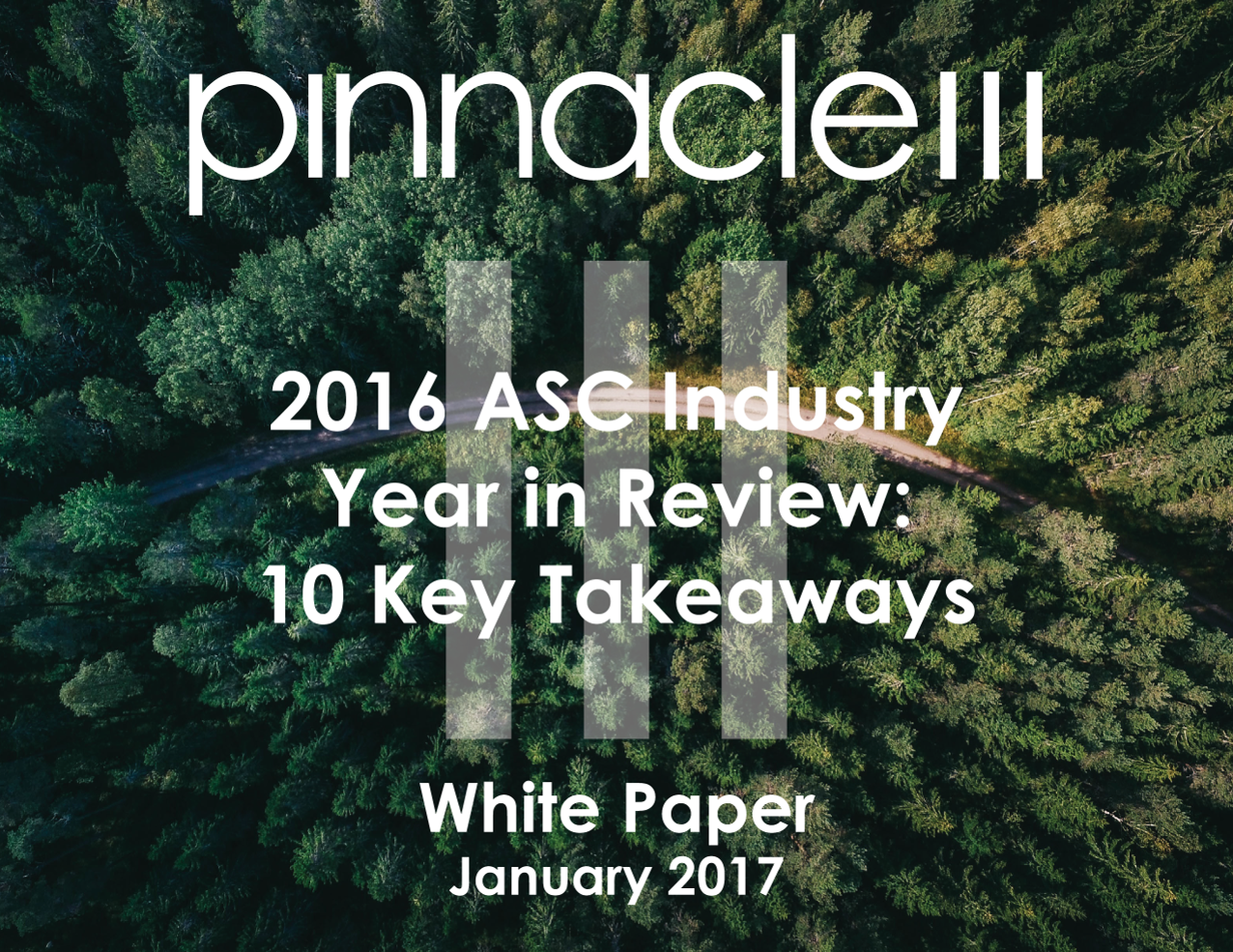 2016 ASC Industry Year in Review