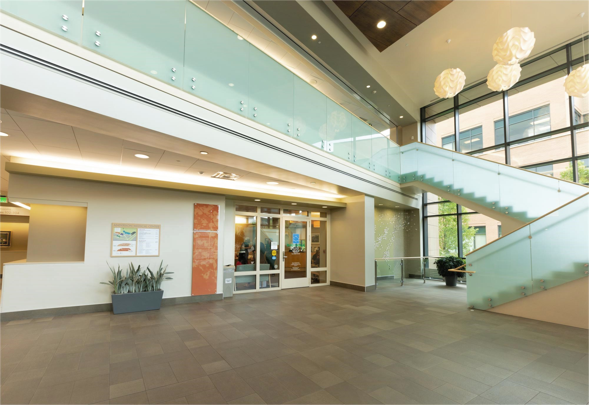 Interior lobby image of Foothills Surgery Center